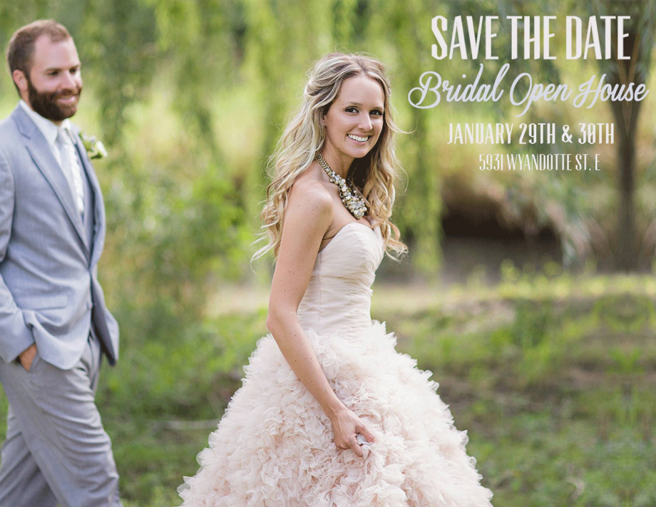 Bridal Open House, Eryn Shea Photography, See You There Invitations