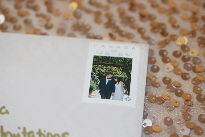 Photo custom stamp